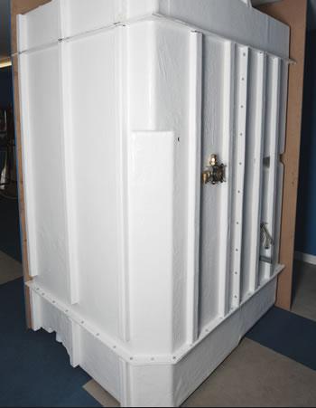 Modular shower pods for Bathroom e pod mara